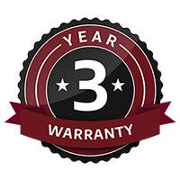 ftx 3 year warranty
